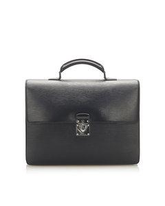 Louis Vuitton Epi Robusto 1 Briefcase Black