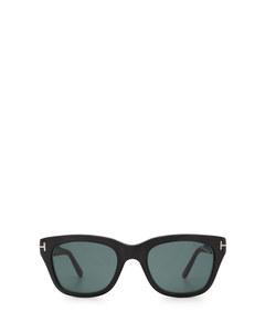 Ft0237 Black Solglasögon