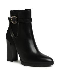 Boot High Heels Svart