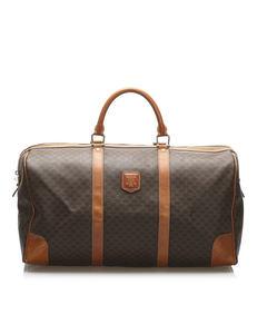 Celine Macadam Travel Bag Brown