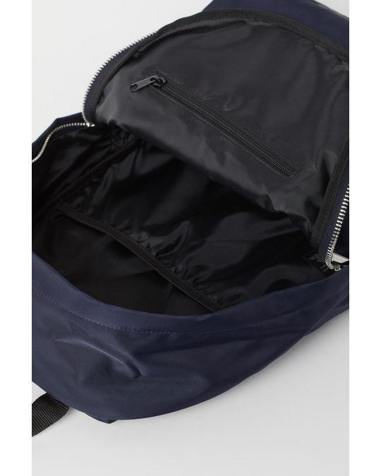 H&M Backpack Dark Blue