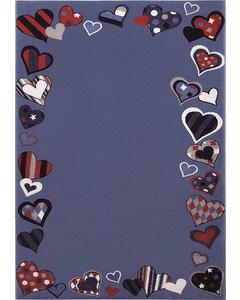Rug Just Hearts