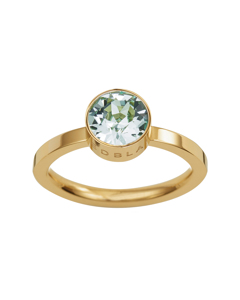 Diana Ring Pool Blue Crystal Gold