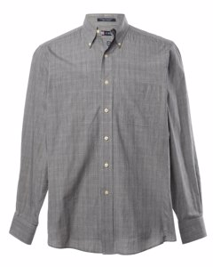 1980s Chaps Checked Shirt