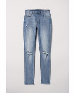 Skinny Regular Ankle Jeans Blau