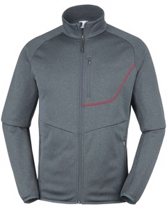 Drammen Point™ Full Zip Fleece Graphite Heathe