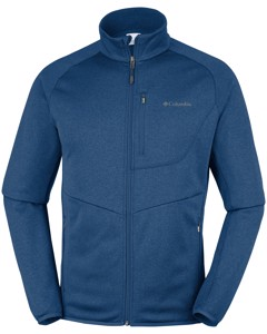 Drammen Point™ Full Zip Fleece Carbon Heather