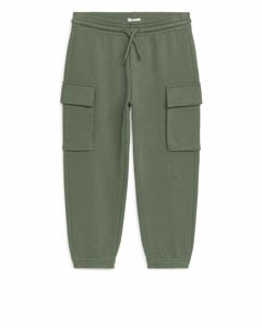 Cargo Sweatpants Khaki Green