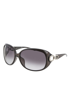 Dior Round Tinted Sunglasses Black