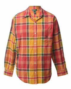 1990s Ralph Lauren Checked Shirt