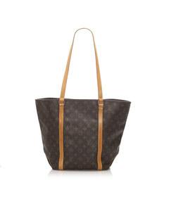 Louis Vuitton Monogram Sac Shopping 48 Brown