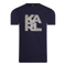 Karl Lagerfeld Library Logo Shirt Blauw