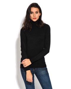 Turtleneck Sweater With Long Sleeves
