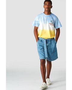 Darius Blue Bell Lemon Tie Dye