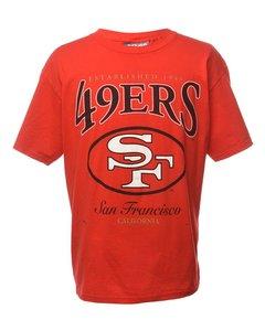1990 Lee 49 Ers San Francisco Sports T-shirt