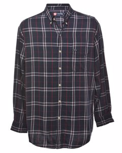 1990s Chaps Checked Flannel Shirt