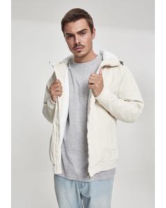 Herren Hooded Corduroy Jacket