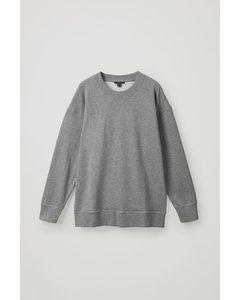Boxy Oversized Sweatshirt Grey