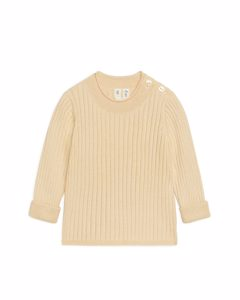 Cotton Wool Jumper Beige Melange