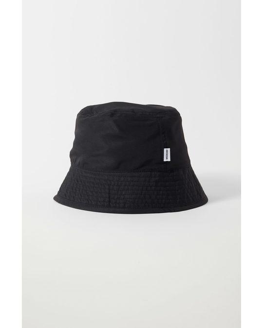 Weekday Grant Bucket Hat Black & Blue