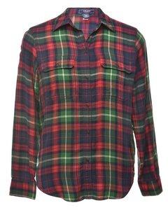 2000s Chaps Navy Shirt