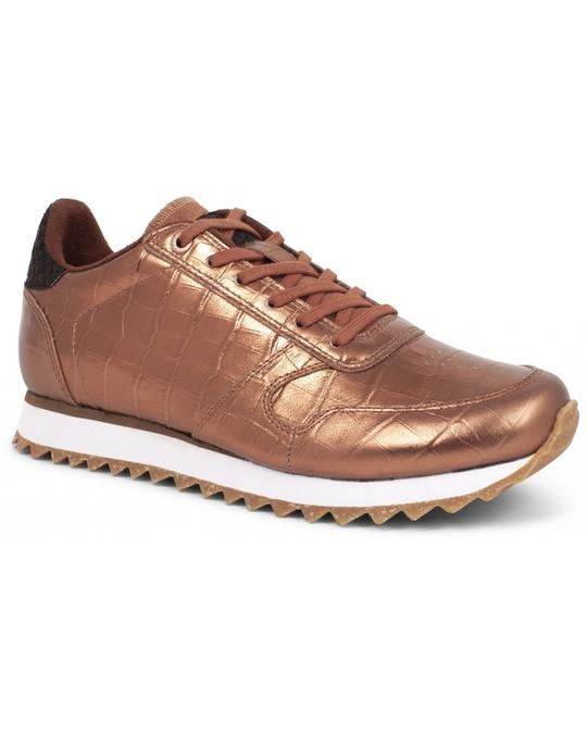 WODEN Sneakers Ydun Croco Shiny