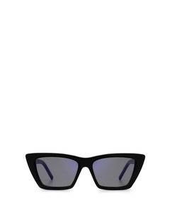Sl 276 Shiny Black Solglasögon