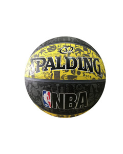 Spalding > Spalding NBA Grafitti Rubber Ball 83307Z