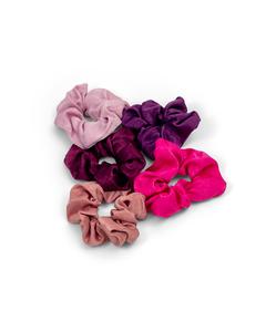 5-pack Multicolored Scrunchies Multi