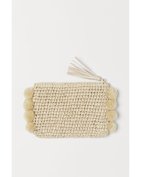 H&M Make-up Bag Beige