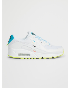 Nike Air Max 90 Se W White/ White-blue Fury-volt