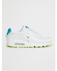 Nike Air Max 90 Se W White/ White-blue Fury-volt