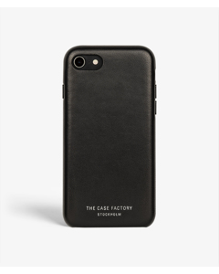 Sc Iphone 7/8/se Wrapped Edges Nappa Black
