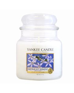 Yankee Candle Classic Medium Jar Midnight Jasmine Candle 411g