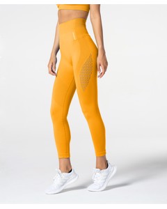 Carpatree Phase Seamless Leggings Golden Yellow
