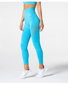Carpatree Phase Seamless Leggings Azure