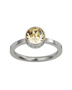 Diana Ring Lemon Sorbet Crystal Steel
