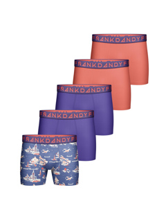 5-pack Frank Dandy Summer Vibe Boxers