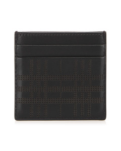 Burberry Leather Card Holder Black