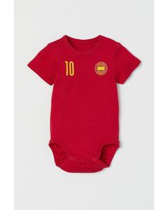 Fotbollsbody Röd/españa