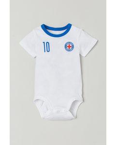 Fotbollsbody Vit/england