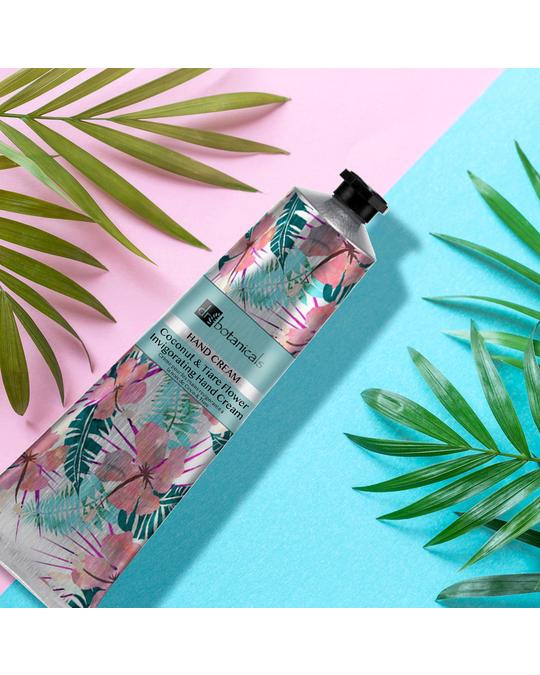 Dr Botanicals Coconut & Tiare Flower Invigorating Hand Cream Clear