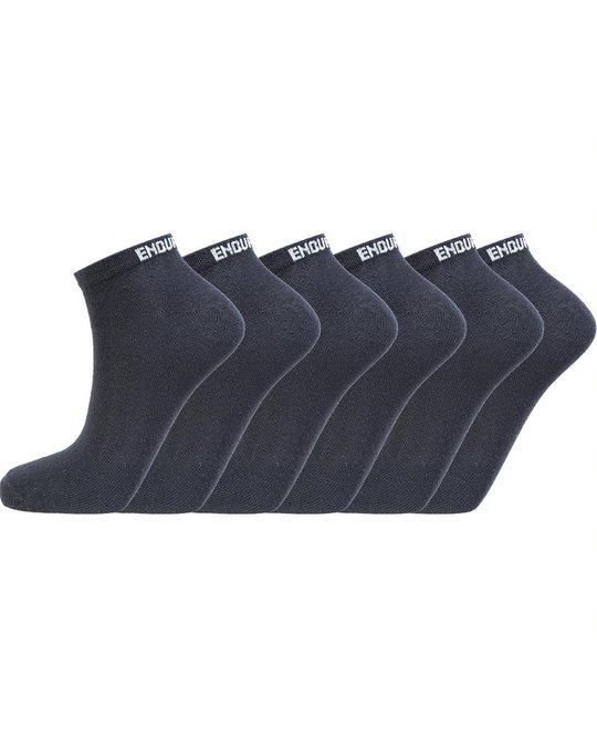Endurance Ibi Low Cut Socks 6-pack Black