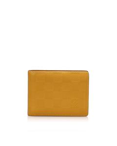 Louis Vuitton Damier Infini Small Wallet Yellow