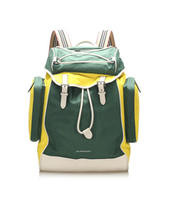 Burberry Nylon Backpack Green