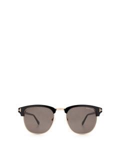 Ft0248 Black Solglasögon