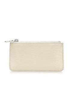 Louis Vuitton Epi Pochette Cles White