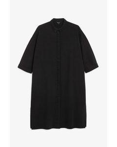 Denim Shirt Dress Black Magic