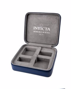 Invicta Travelcase 2 slot Blue