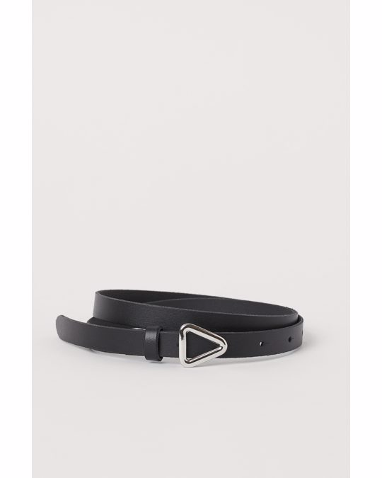 H&M Leather Belt Black